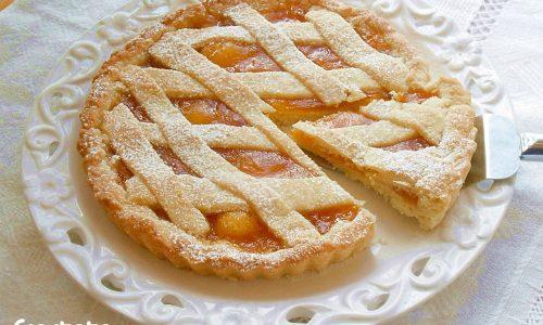 Crostata con confettura di mele