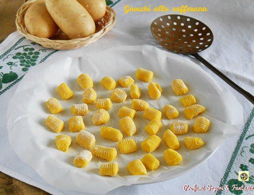 Gnocchi allo zafferano ricetta base