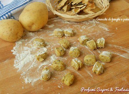 Gnocchi di funghi e patate