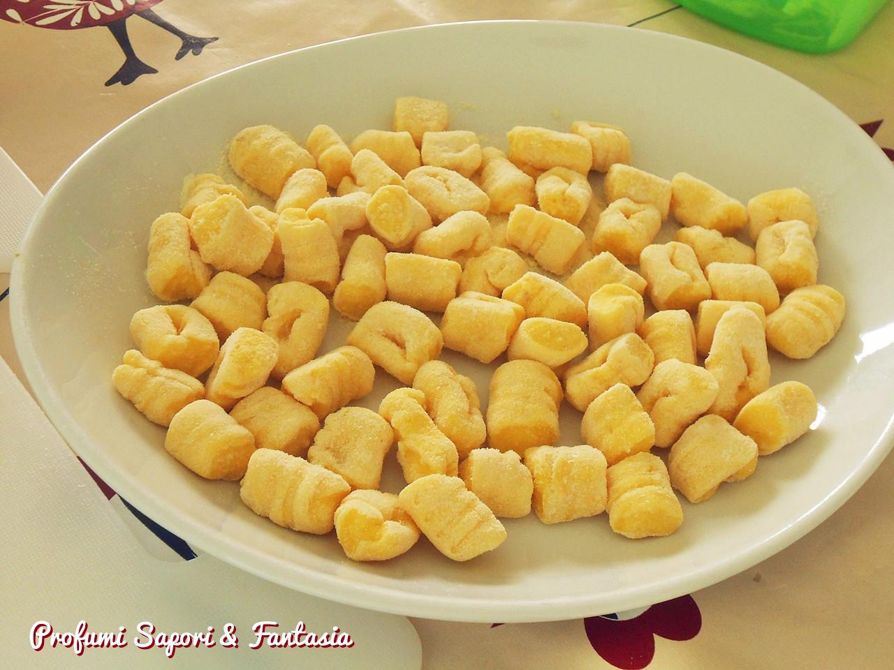 Gnocchi di patate allo zafferano ricetta base