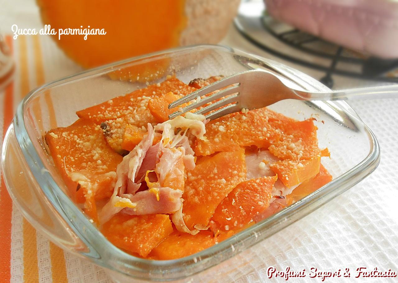 Zucca alla parmigiana