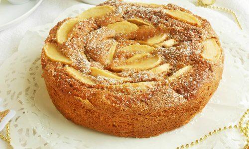 Torta con castagne e mele