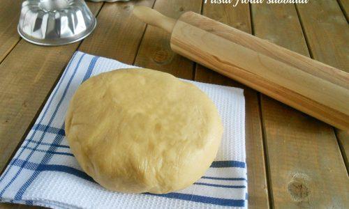 Pasta frolla sabbiata