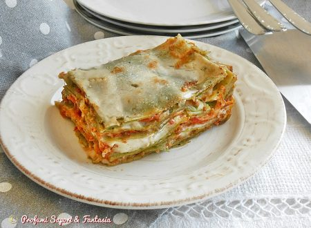 Lasagne verdi con stracchino e mozzarella