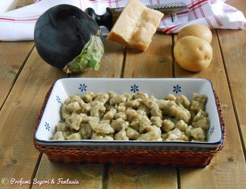 Gnocchetti di melanzane con patate