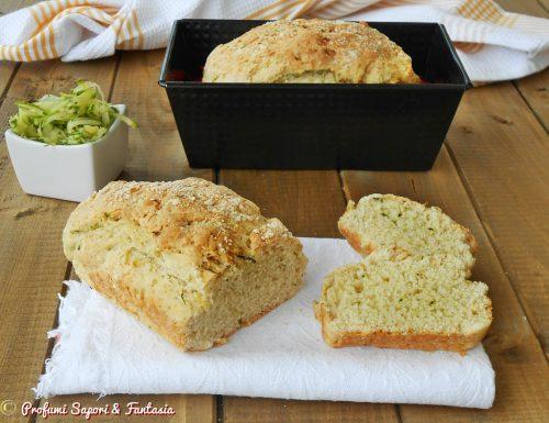 Pane con yogurt e zucchine