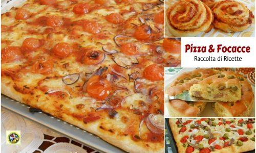 Pizza e focacce raccolta di ricette