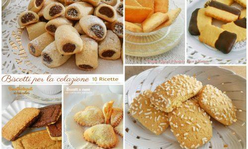 Biscotti per la colazione raccolta ricette