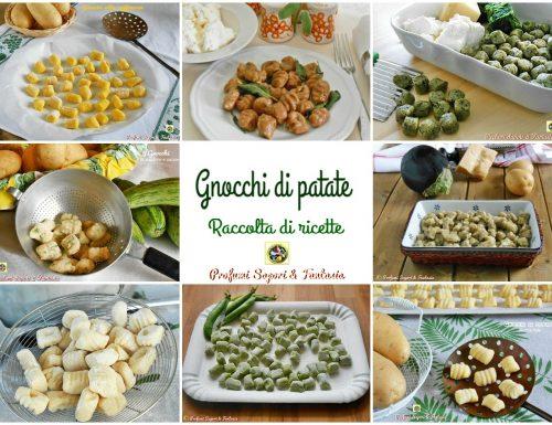 Gnocchi di patate raccolta di ricette