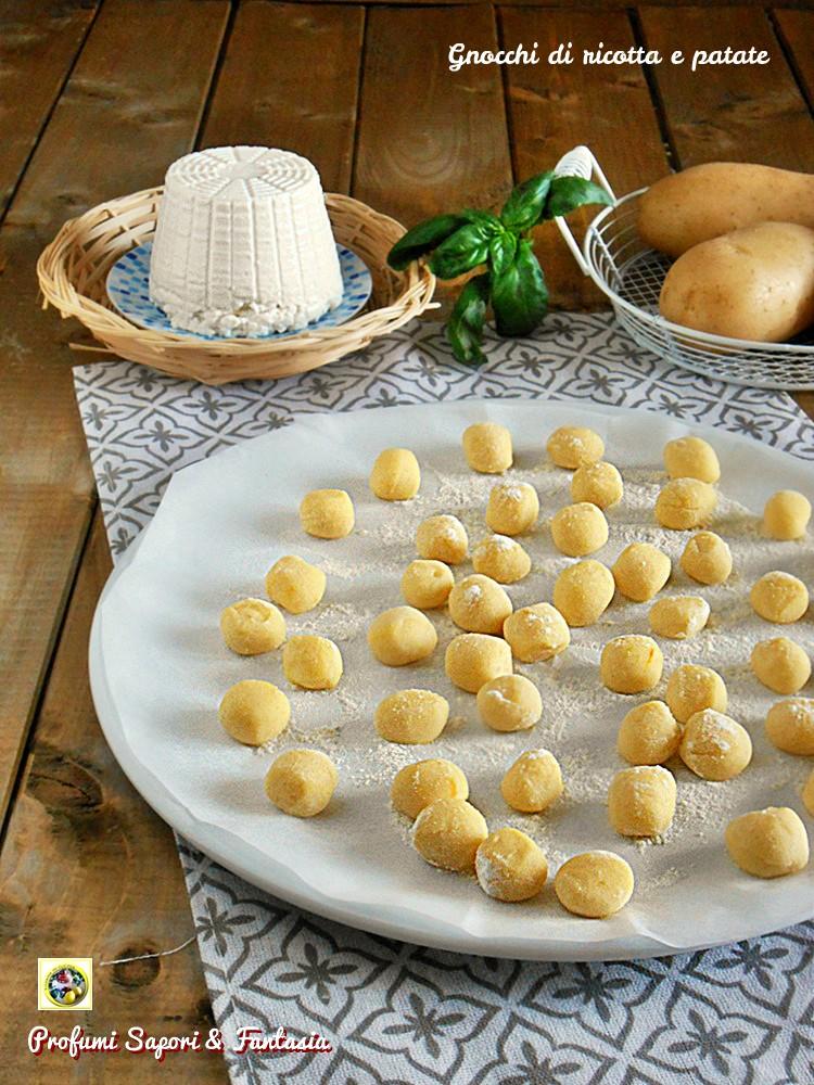 Ricette Di Gnocchi Con La Ricotta.Gnocchi Di Ricotta E Patate Profumi Sapori Fantasia
