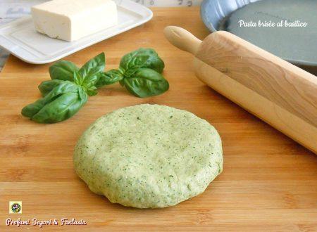 Pasta brisee al basilico