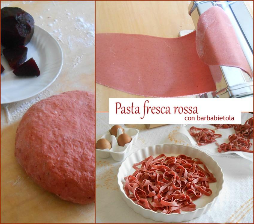 Pasta fresca rossa