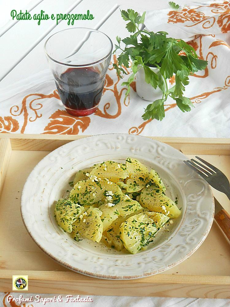 Patate aglio e prezzemolo