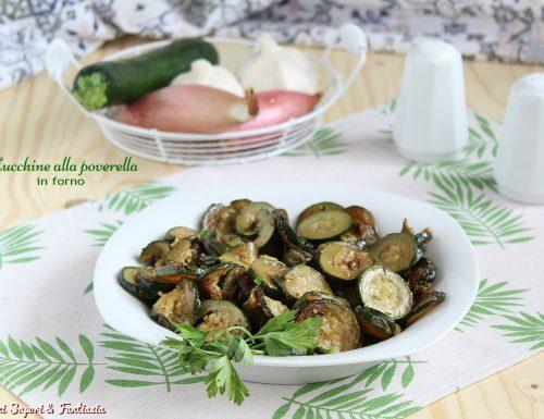 Zucchine alla poverella in forno