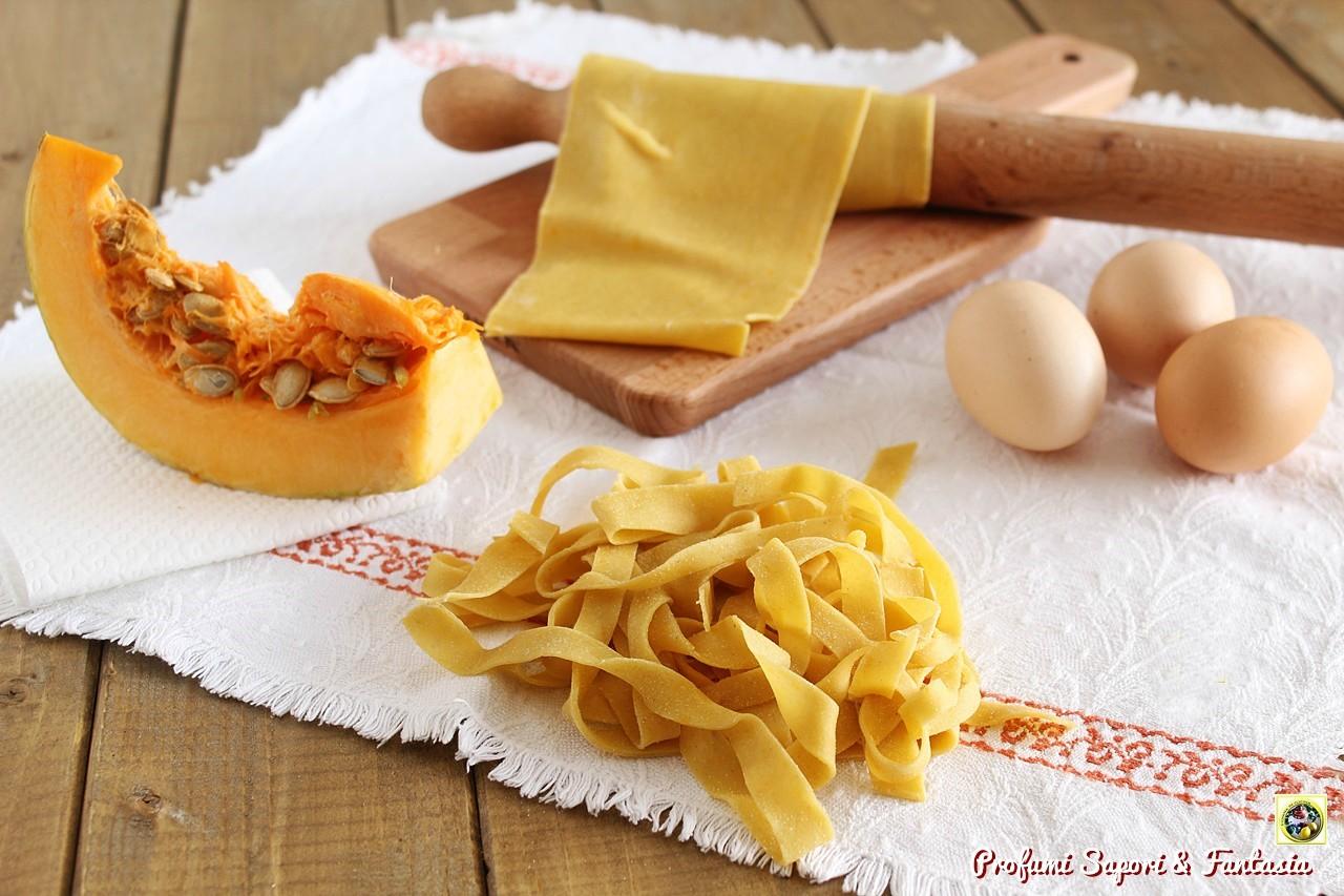 Pasta fresca con la zucca
