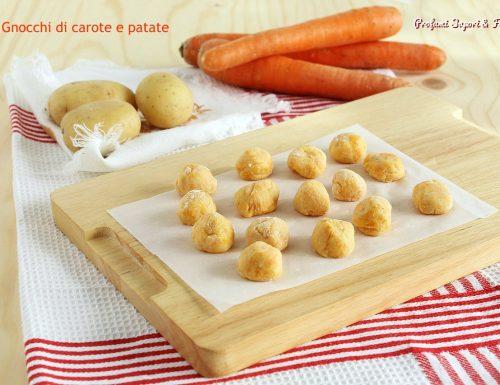 Gnocchi di carote e patate ricetta base