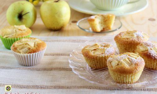 Muffin alle mele e vaniglia