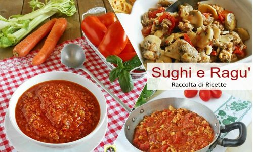 Sughi e Ragu' fatti in casa raccolta di ricette