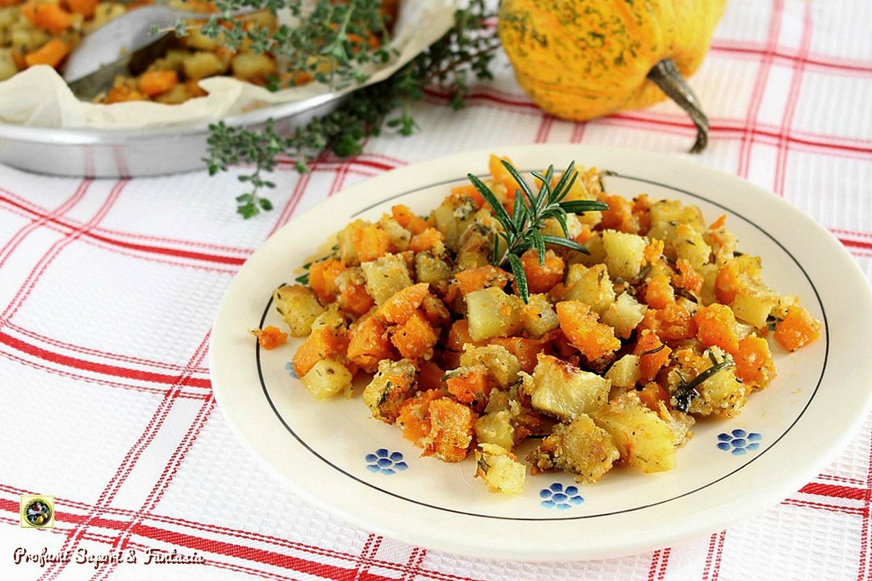 Zucca e patate sabbiose