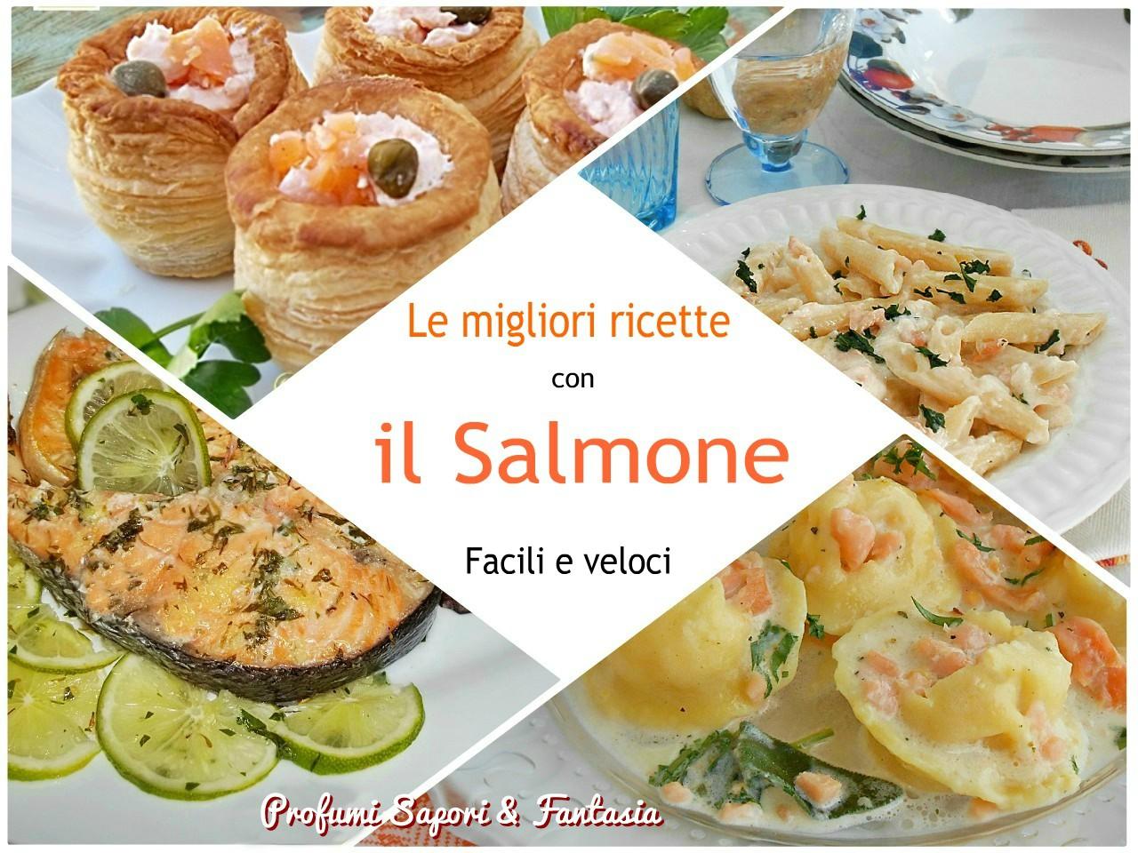 Le migliori ricette con il salmone