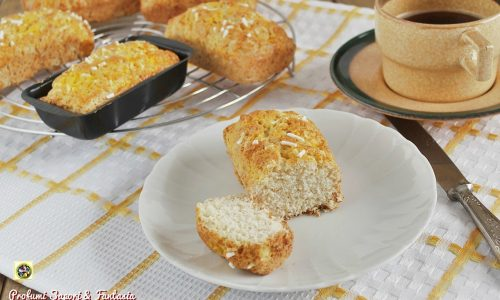 Miniplumcake alla panna con farina integrale