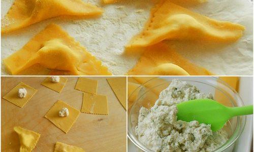 Tortelli con ricotta e mascarpone pasta fresca ripiena