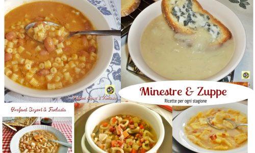 Minestre e zuppe ricette per ogni stagione