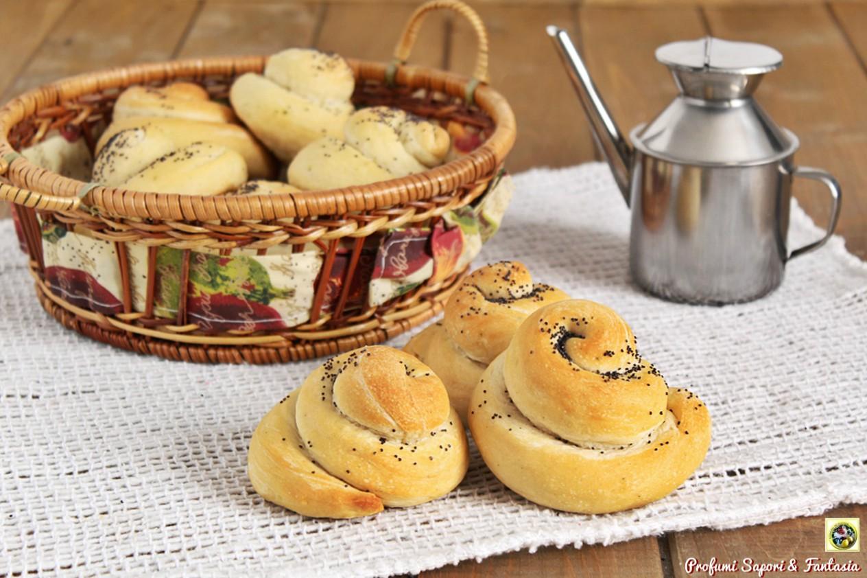 Chiocciole di pane