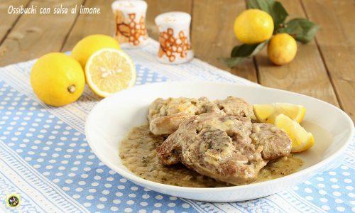 Ossibuchi con salsa al limone