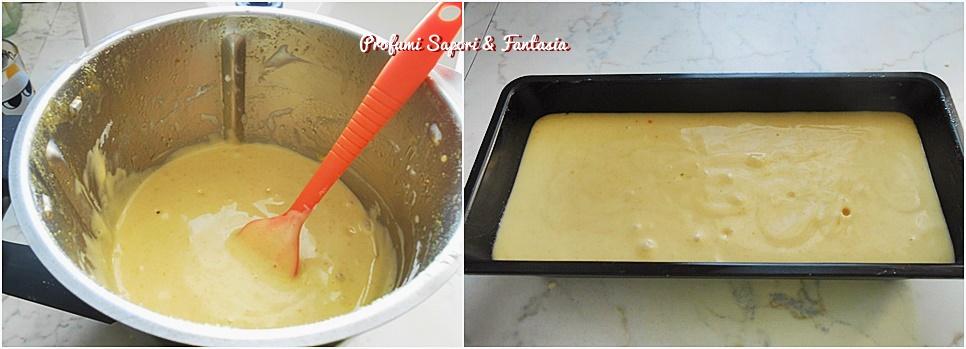 Plumcake con arance yogurt e cioccolato