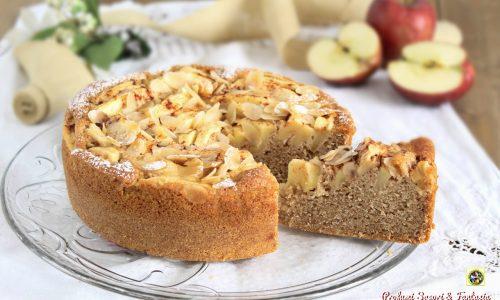 Torta di mele integrale senza burro