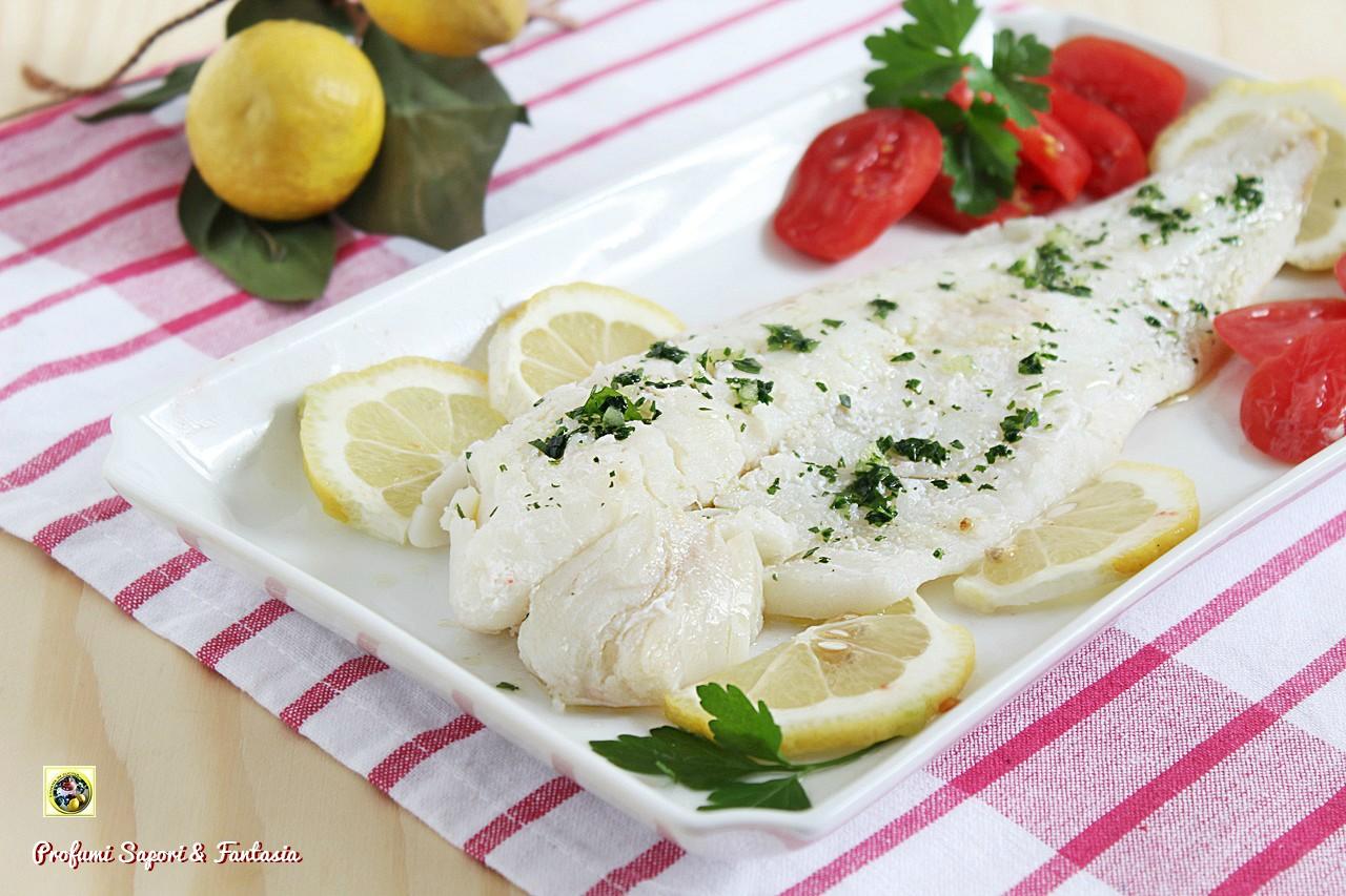 Filetto di merluzzo in bianco al limone