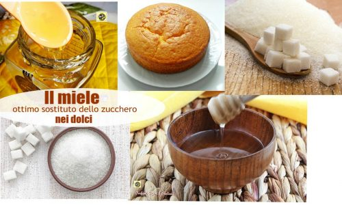 Sostituire lo zucchero con il miele nei dolci