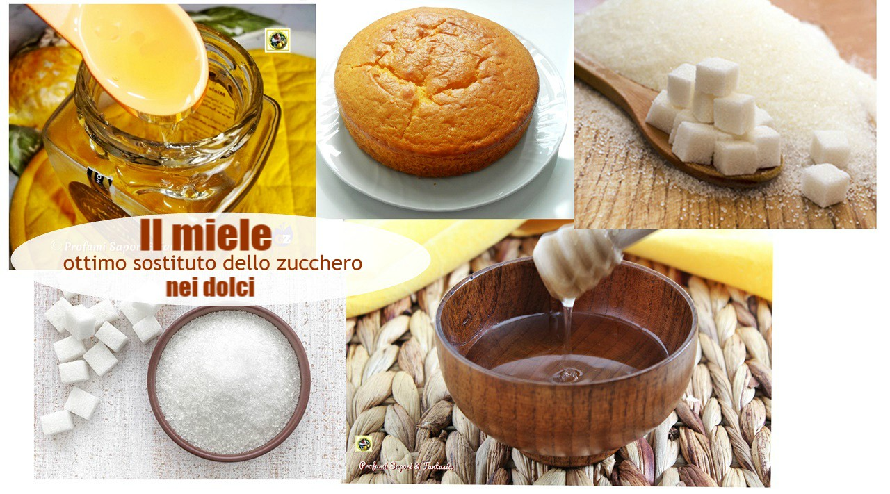 Il miele ottimo sostituto delle zucchero nei dolci