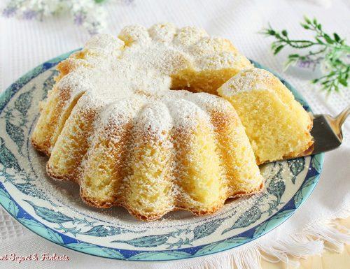 Torta al miele con yogurt e limone