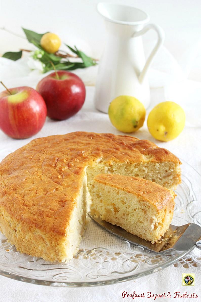 torta di mele al limone e cannella