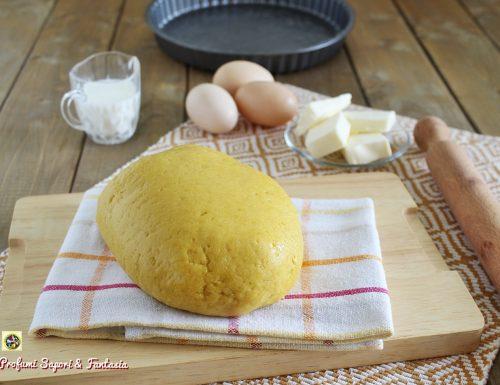 Frolla al latte friabile per biscotti e crostate