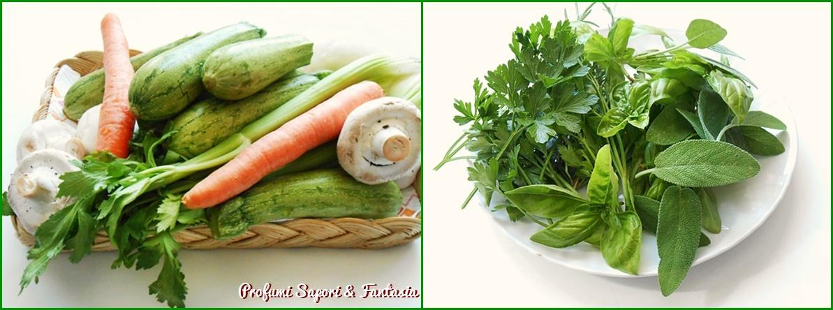 dado di verdure