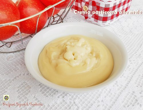 Crema pasticcera alle mele ricetta molto facile e golosa