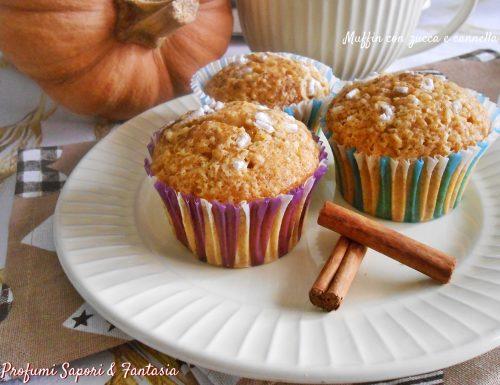 Muffin con zucca e cannella