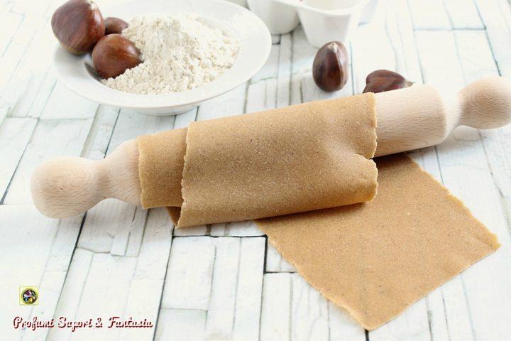 pasta fresca con farina di castagne