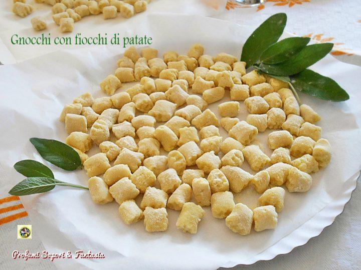 Ricetta Gnocchi Con I Fiocchi Di Patate.Gnocchi Con Fiocchi Di Patate Ricetta Di Base Profumi Sapori Fantasia