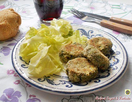 Polpette vegetali con cime di rapa