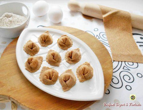 Cappelletti con pasta fresca integrale