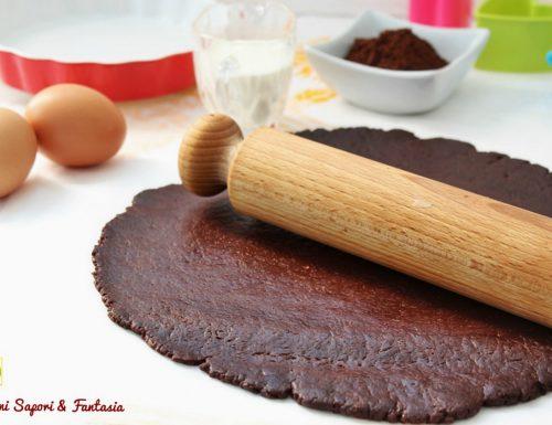 Pasta frolla con panna e cacao