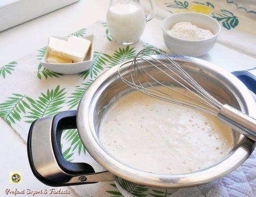 Besciamella ricetta tradizionale