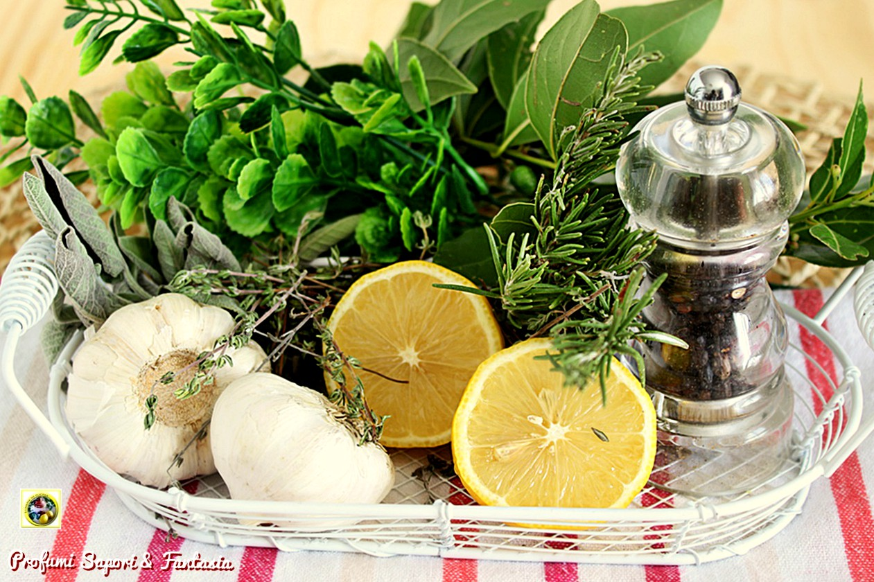 marinata alle erbe aromatiche