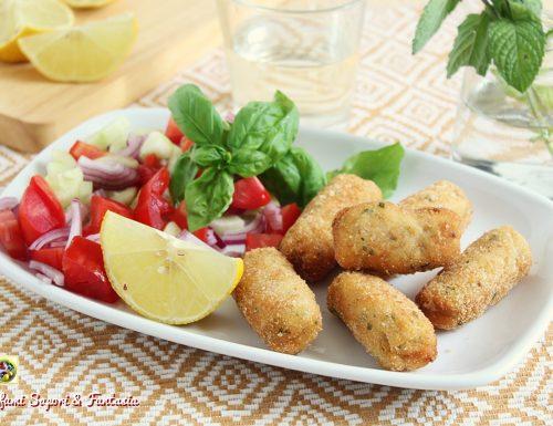 Crocchette di pesce con olive