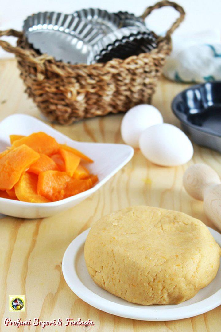 pasta frolla dolce con la zucca