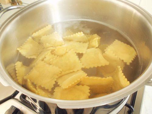 come sbianchire la pasta ripiena